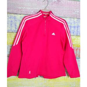 Adidas Clima Warm zip up pullover sweatshirt Med